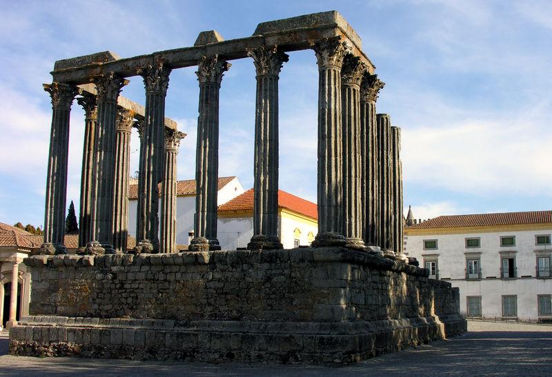 Templo Romano de Évora, Catedral de Évora, Pão Rala, Doces de Évora